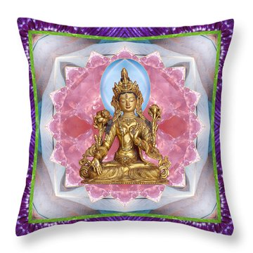 Throw Pillow featuring the photograph Bright Ally by Bell And Todd