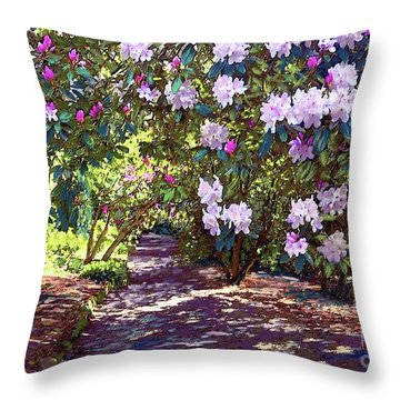 Bright And Beautiful Spring Blossom Throw Pillow