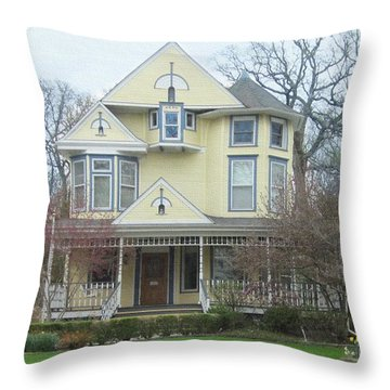 Bright And Cheery Throw Pillow