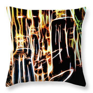 Bright And Strong Throw Pillow by Rajiv Chopra