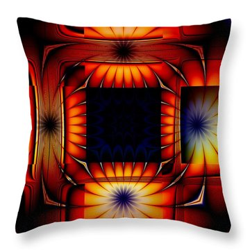 Bright As Can Be Throw Pillow