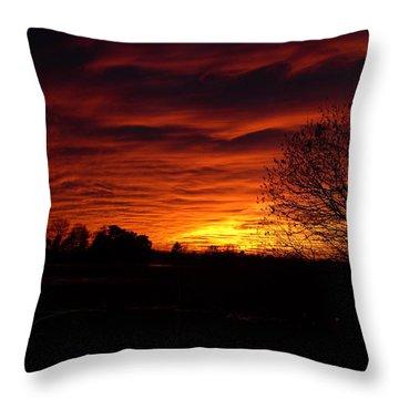 Bright Darkness Throw Pillow