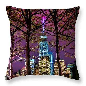 Bright Future Throw Pillow by Az Jackson