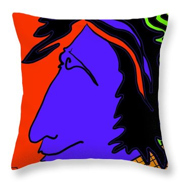 Bright Guy Throw Pillow