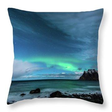 Bright Night Throw Pillow