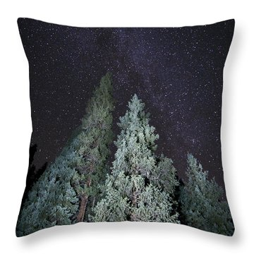 Bright Night Throw Pillow by Jeff Kolker