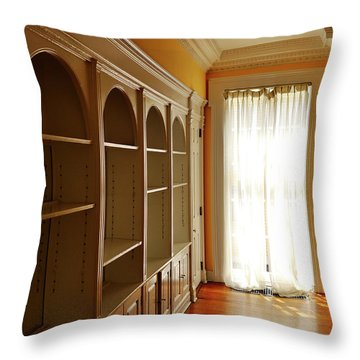 Bright Window Throw Pillow by Zawhaus Photography