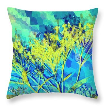 Brighter Day Throw Pillow