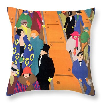 Brightest London Is Best Reached By Underground Throw Pillow