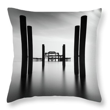 Brighton Pier, The Throw Pillow