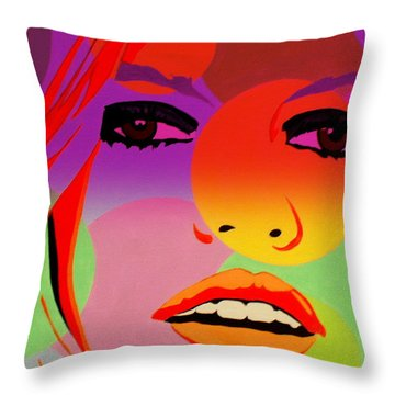 Brigitte Bardot ... Young  Throw Pillow