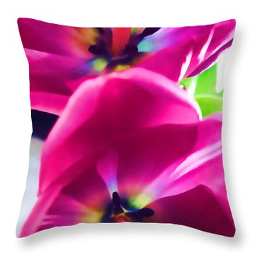 Throw Pillow featuring the photograph Brilliance by Roberta Byram