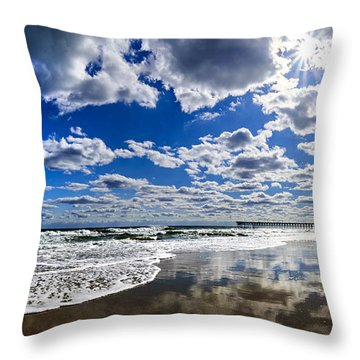 Brilliant Clouds Throw Pillow