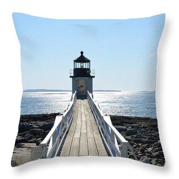 Brilliant Light Throw Pillow by Corinne Rhode