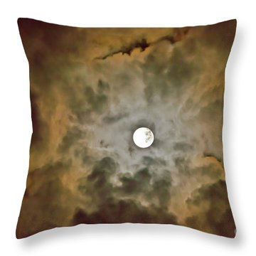 Brilliant Night Sky Throw Pillow