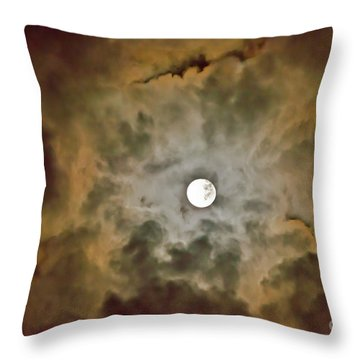 Throw Pillow featuring the photograph Brilliant Night Sky by Wanda Krack