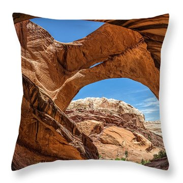 Brimhall Bridge Throw Pillow