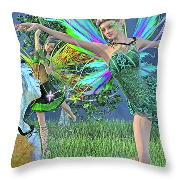 Bring Me Back To Life Throw Pillow by Betsy Knapp