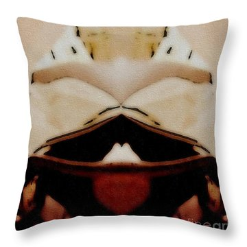 Bringing Dinner Throw Pillow