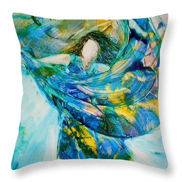 Bringing Heaven To Earth Throw Pillow