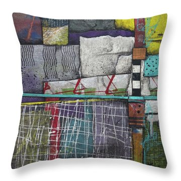 Bringing It All To The Surface  Throw Pillow