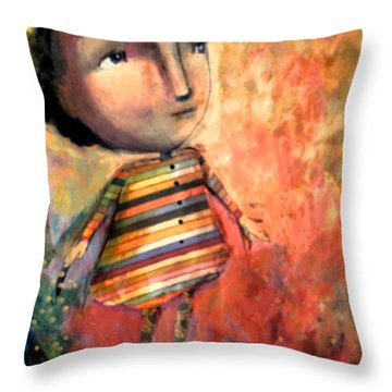 Bringing Love Throw Pillow