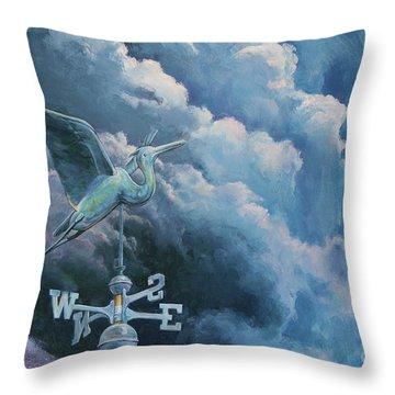 Bringing The Storm Throw Pillow