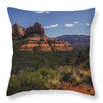 Brins Mesa Trail Vista Throw Pillow