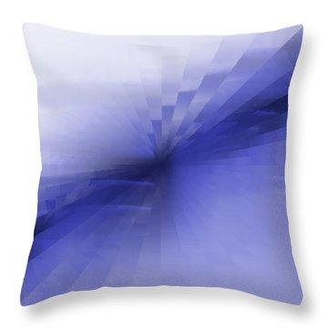 Bris Bleu Throw Pillow