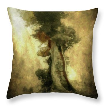 Bristlecone Pine Throw Pillow
