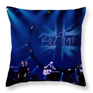 Brit Floyd Space And Time World Tour 2015.3 Throw Pillow