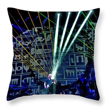Brit Floyd Space And Time World Tour 2015.5 Throw Pillow
