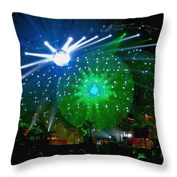 Brit Floyd Space And Time World Tour 2015.6 Throw Pillow