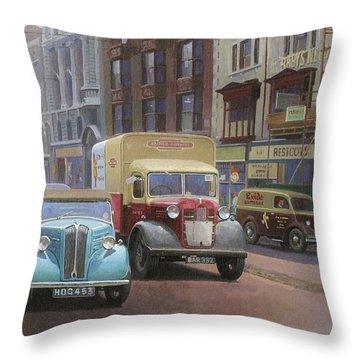 British Railways Austin K2 Throw Pillow