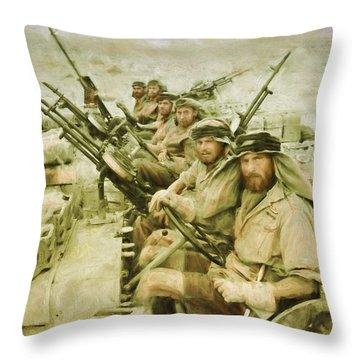 British Sas Throw Pillow