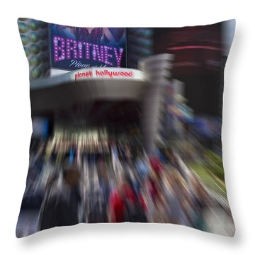 Britney Throw Pillow