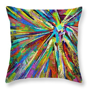 Brittle Enthusiasm Throw Pillow
