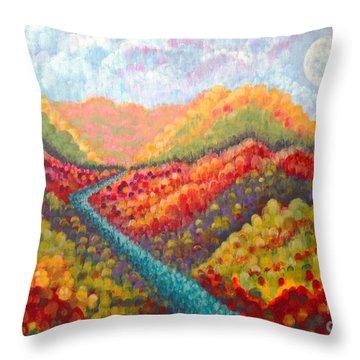 Brivant Throw Pillow by Holly Carmichael