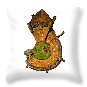 Brodick Castle Throw Pillow