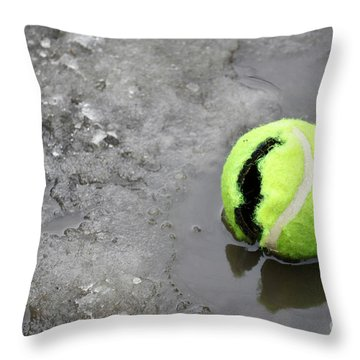 Broken And Alone Throw Pillow