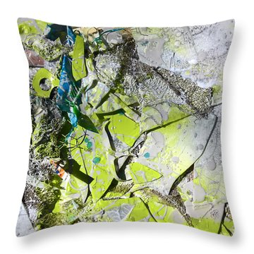 Broken And Reformed #3 Throw Pillow