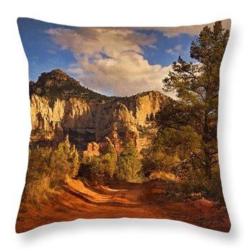 Broken Arrow Trail Pnt Throw Pillow