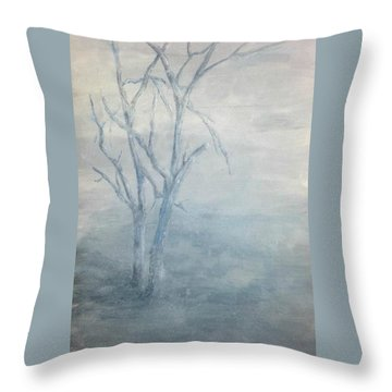 Broken But Still Standing Throw Pillow