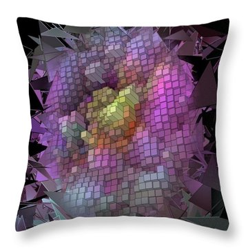 Broken By Nico Bielow Throw Pillow