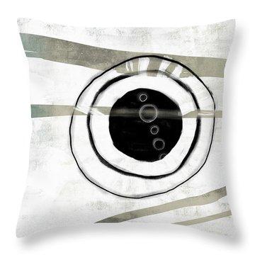 Broken Circle Throw Pillow