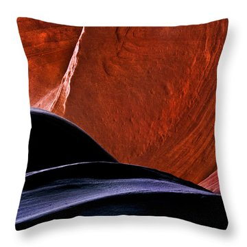 Broken Dial Throw Pillow by Mike  Dawson