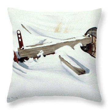 Broken Dreams Throw Pillow by Conrad Mieschke
