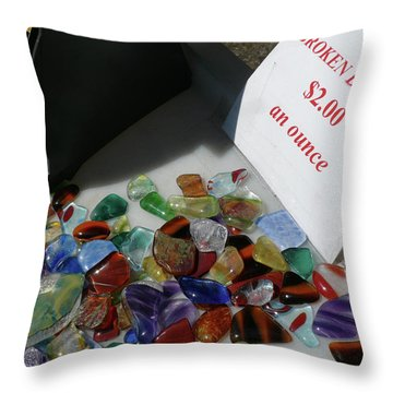 Broken Dreams For Sale Throw Pillow