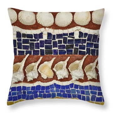Broken Shell Throw Pillow