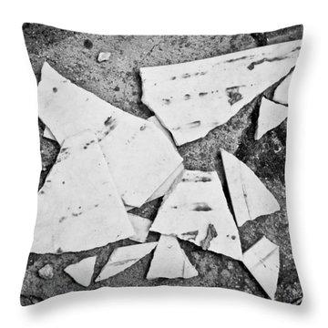 Broken Tile Throw Pillow
